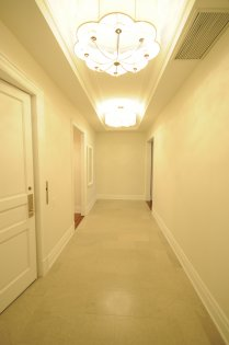 Grand Suite Foyer Entrance With Soaring 10Ft. Ceiling & Private Direct Elevator Access.
