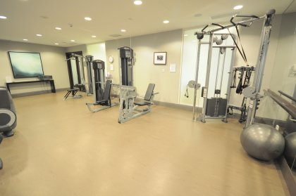 Fitness Area With State-Of-The-Art Equipment.