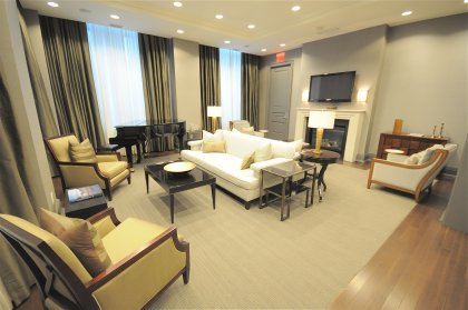 The Grand Avenue Club Room With Reception, Dining & Executive Areas.