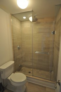 Frameless Spa Shower.