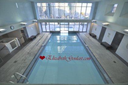2nd Floor - WaterClub Heated Indoor/Outdoor Pool.