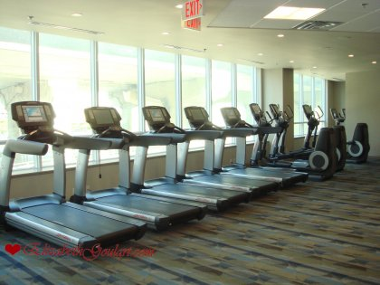 2nd Floor Pinnacle Club - Fitness & Weight Area.