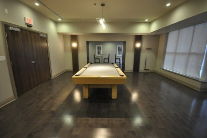 2nd Floor Pinnacle Club - Billiard & Lounge Room.
