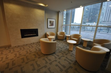 2nd Floor Pinnacle Club - Business Centre & Lounge.