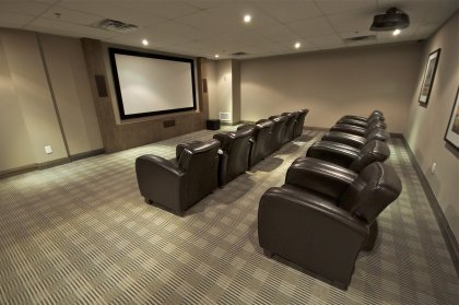 2nd Floor Pinnacle Club - Theatre Room.