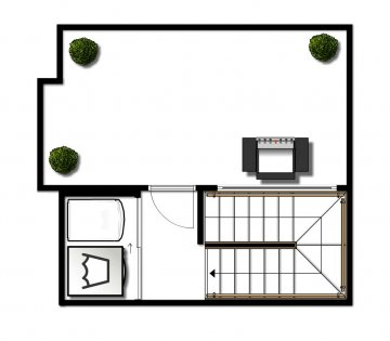 *This floor plan is to be used for visual purposes only.