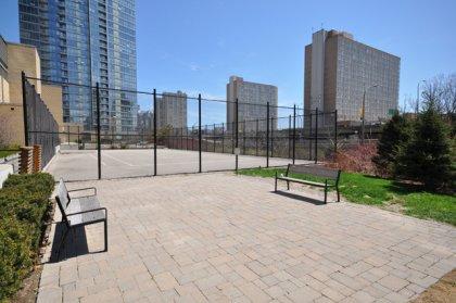 Outdoor Tennis Court.