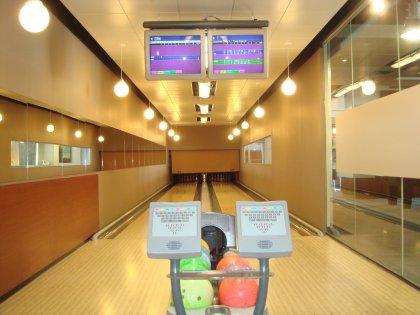 Indoor Bowling Lanes.