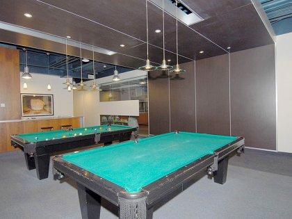 Billiards Area.
