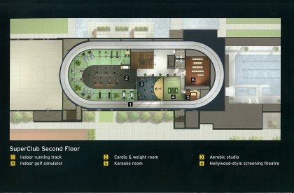 The Exclusive 3-Storey SuperClub Complex Features Over 30,000 Sq.Ft.