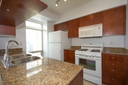 Designer Kitchen Cabinetry With Granite Counter Tops.
