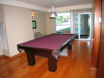 State-Of-The-Art Facilities Including Billiard Room.