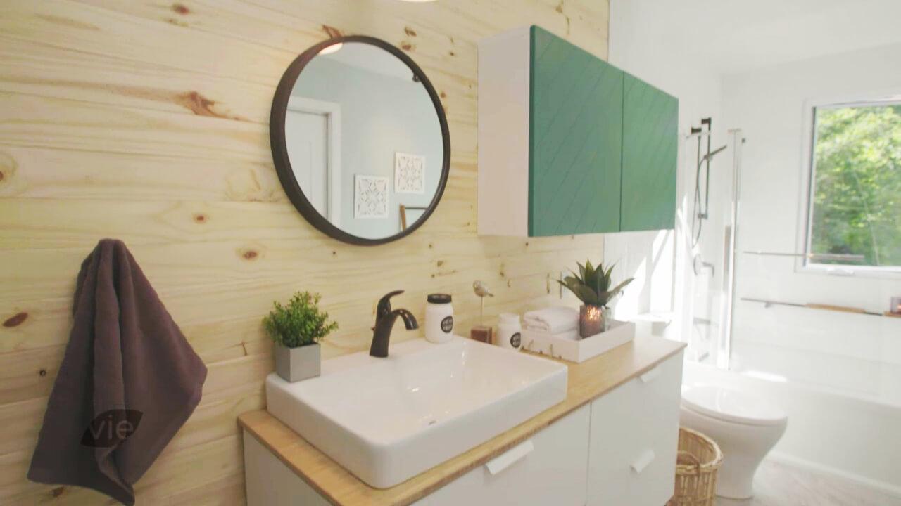 Des idées de déco pour la salle de bain au chalet | Déco d\'Émilie ...