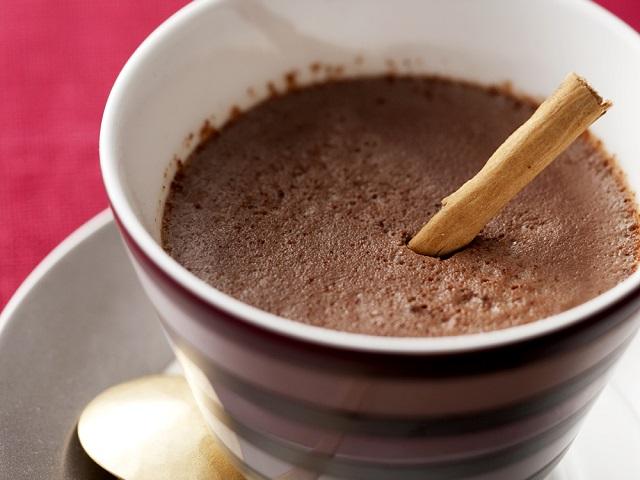ホットチョコレートプリン