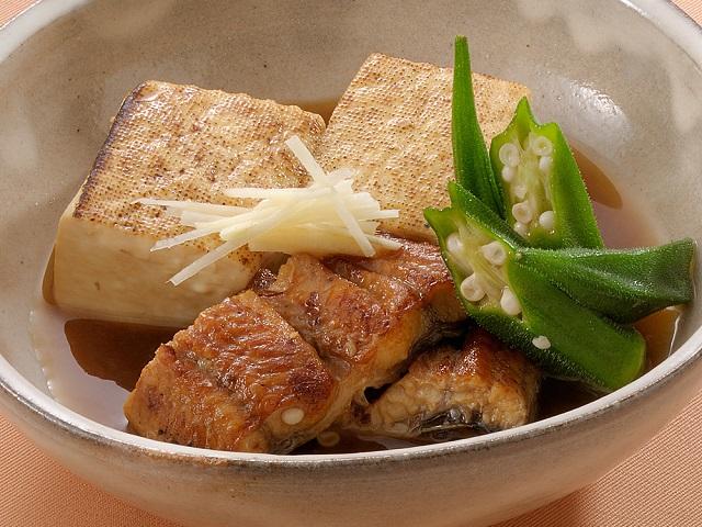 うなぎと豆腐のうま煮