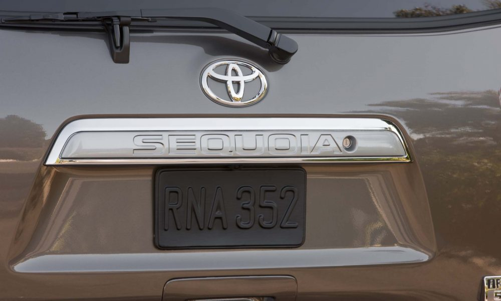 2016 Toyota Sequoia Product Information