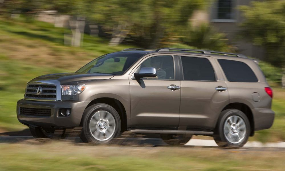 2017 Toyota Sequoia Product Information