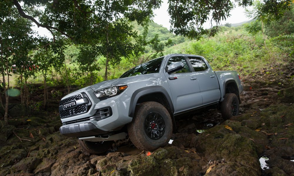 2017 Tacoma Product Information