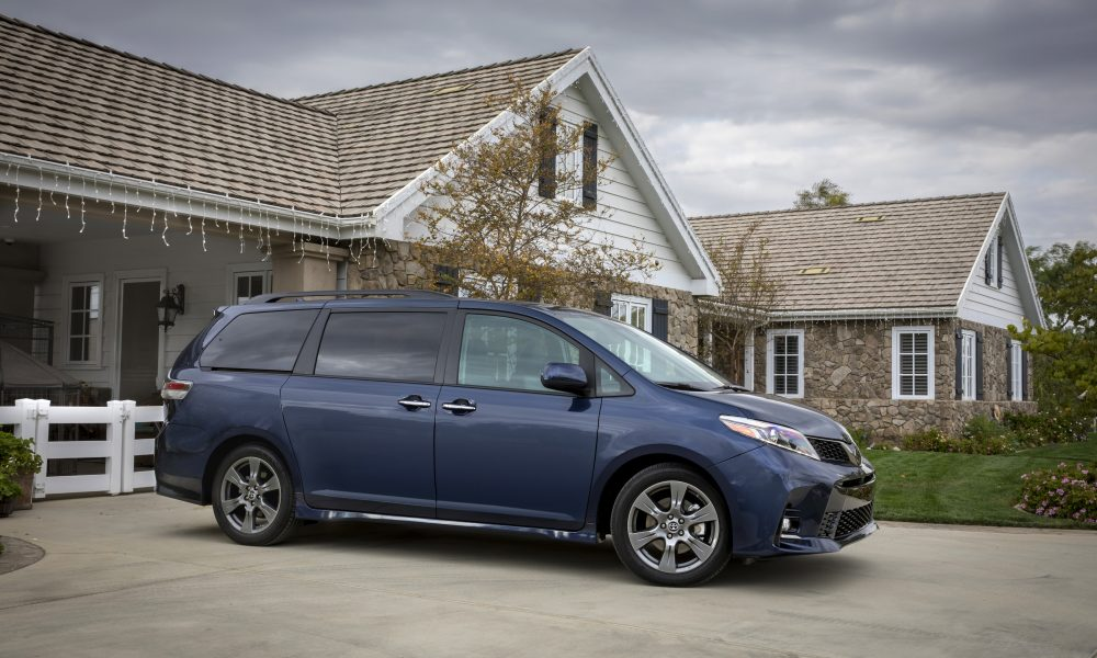 2018 Toyota Sienna Product Information
