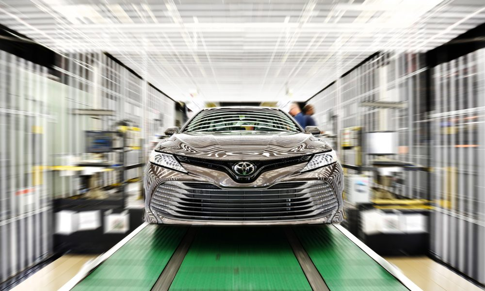 Toyota Production in North America Nearly 2 Million in 2018