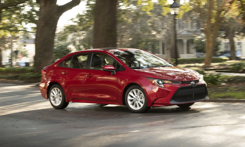 Performance and Design Highlight the All-New 2020 Toyota Corolla