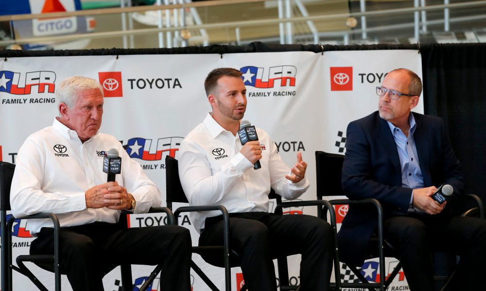 Leavine Family Racing Toyota Announcement 01
