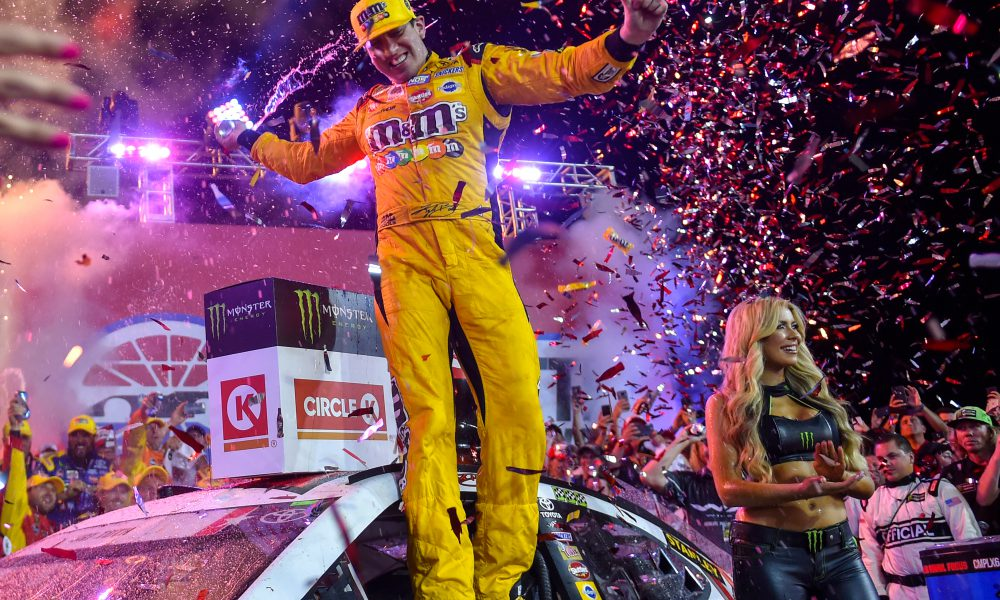 Busch Wins 600, Claims Victory at Every Track