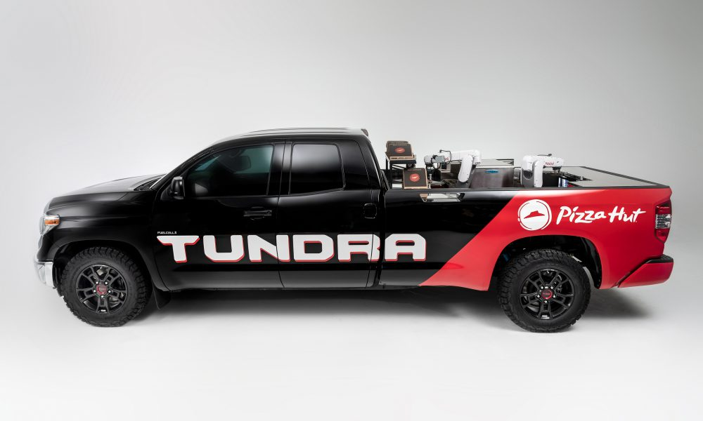 Toyota Tundra Pie Pro Makes its Own Pizza at SEMA 2018