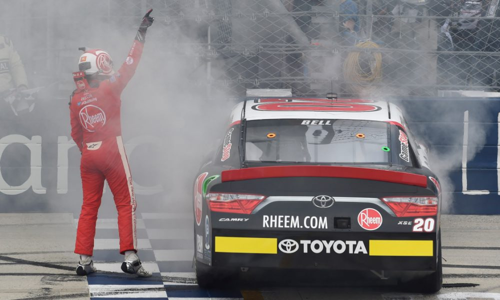 Bell Makes History at Dover