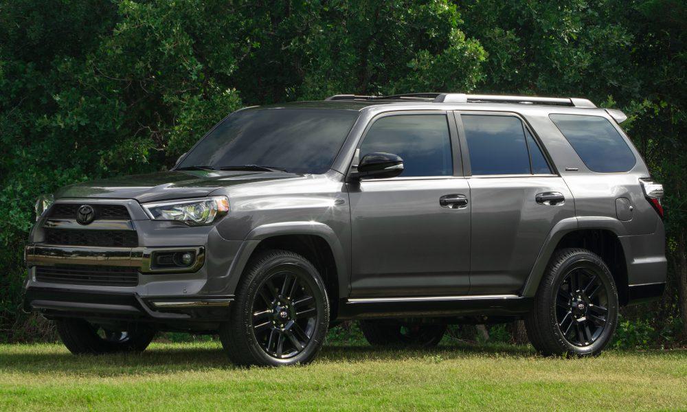 Toyota Unveils 2019 4Runner Nightshade, Tacoma and Tundra SX Packages at State Fair of Texas