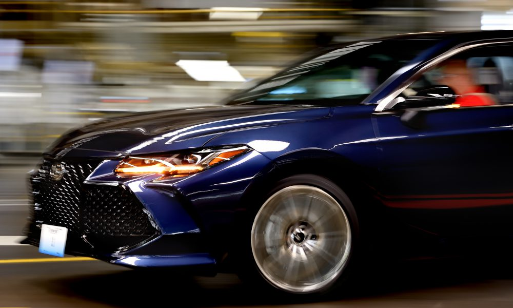 The future of Toyota manufacturing is here as all-new 2019 Avalon  begins racing off Kentucky production line and into showrooms soon