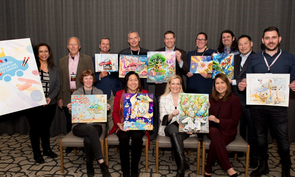 U.S. Winners of Toyota Dream Car Art Contest Announced