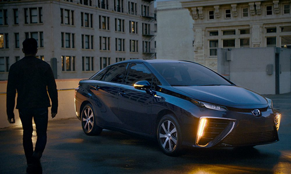 2019 Toyota Mirai Fuel Cell Sedan Media Campaign 01