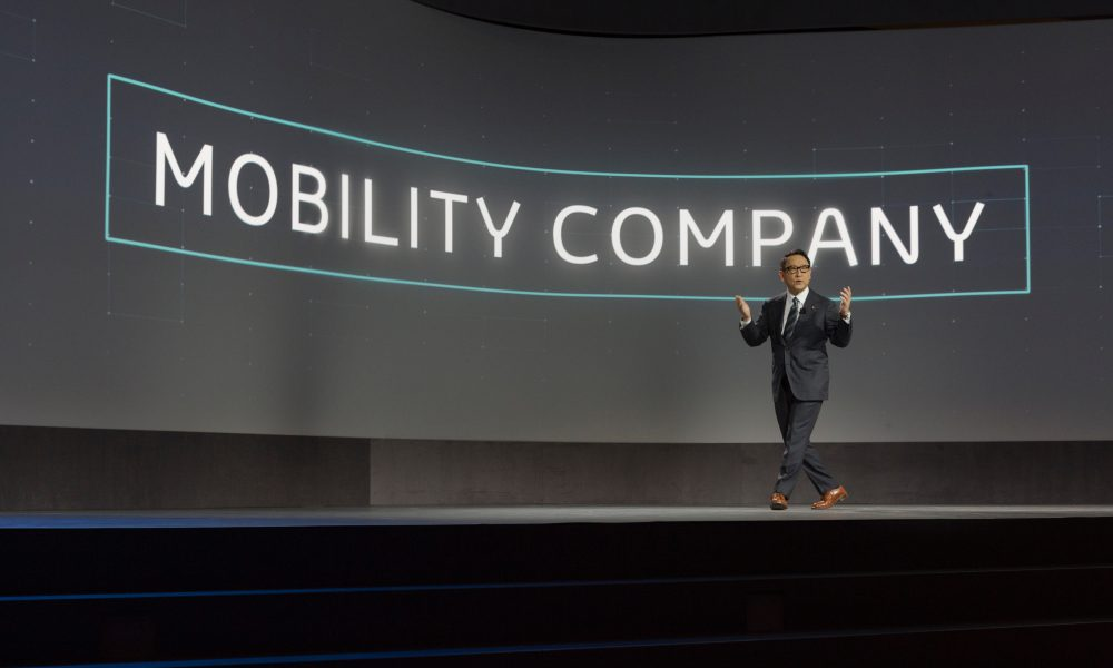 Akio Toyoda, President and Member of the Board of Directors, Toyota Motor Corporation: 2018 CES – Remarks