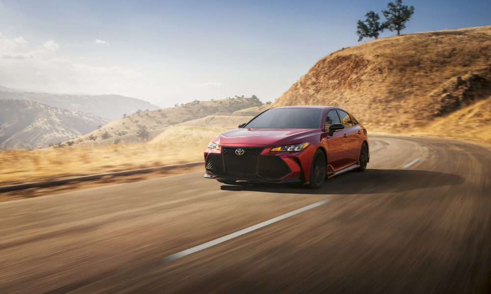 Toyota Revs Up Avalon Attitude with First-Ever TRD Model for 2020; Twisty Roads, Beware