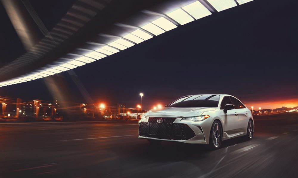 Toyota Celebrates a Sedan Serious About Play: the All-New Avalon