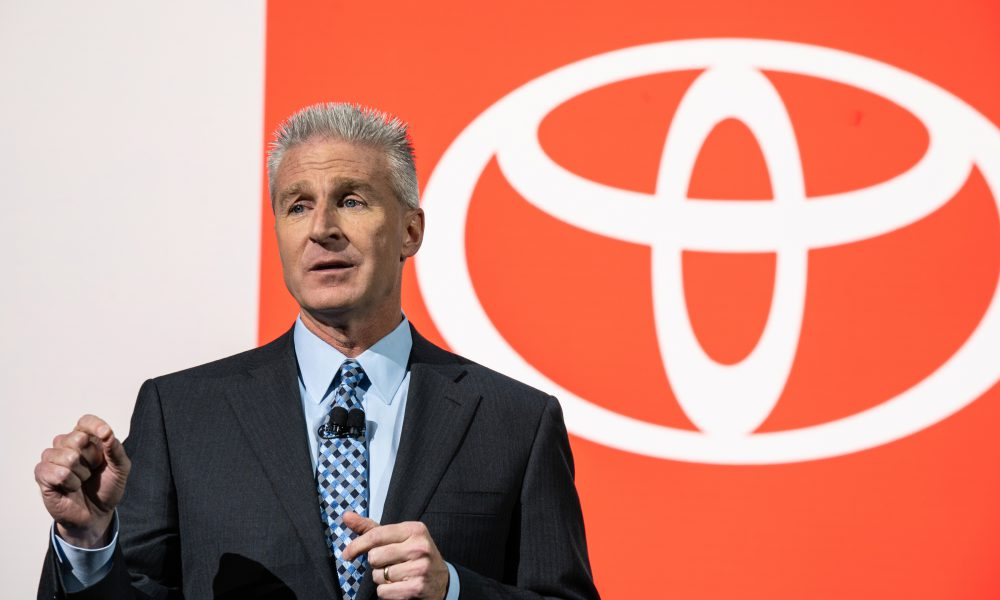 2019 New York International Auto Show: Toyota Press Conference, Jack Hollis Remarks