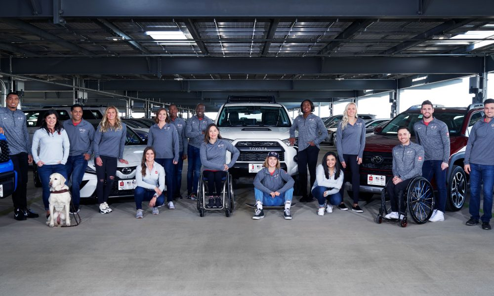 Team Toyota Adds 14 U.S. Olympic and Paralympic Summer Athletes and Hopefuls to its Roster
