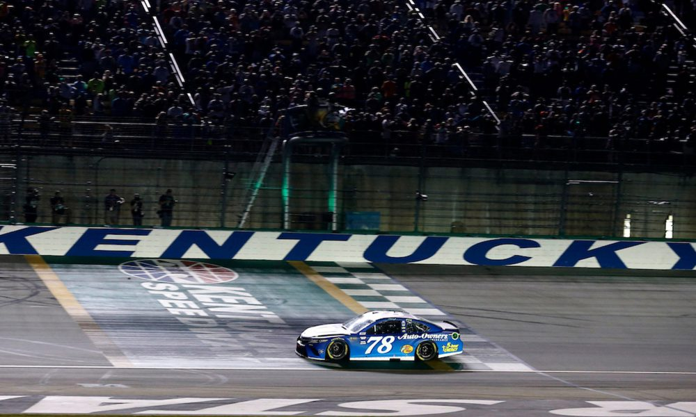 Truex Tallies 10th Cup Series Win For Toyota In '18