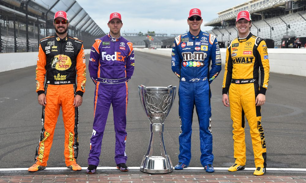 MENCS Playoff Image Four Toyota Drivers