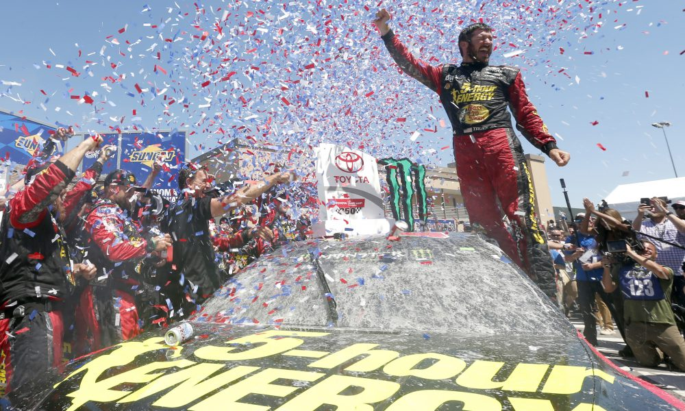 Truex Leads Toyota To Winning Weekend