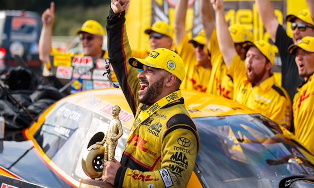 Toyota Drivers Take NHRA, NASCAR Point Leads