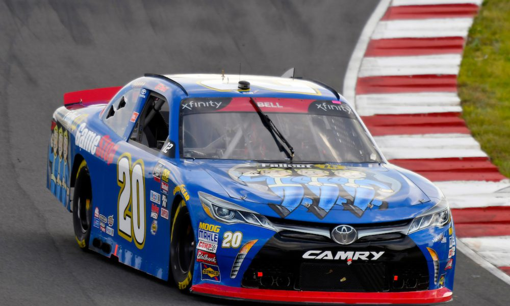 NXS Image Christopher Bell 20 Toyota Racing