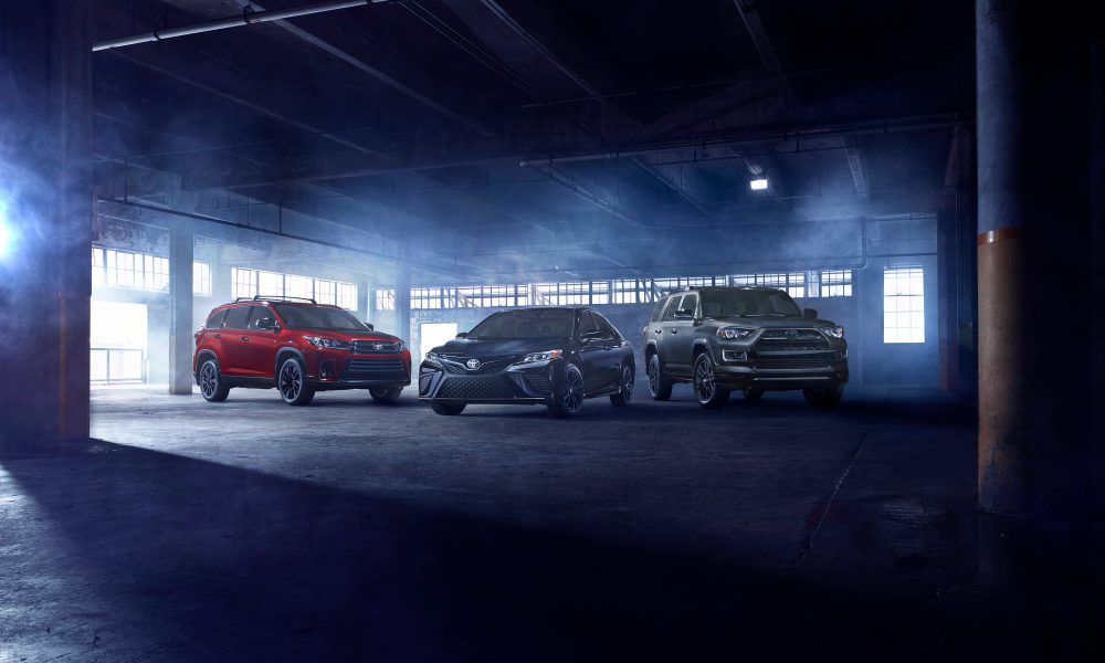 Prepare for Darkness: Camry and Highlander to Get Nightshade Special Edition