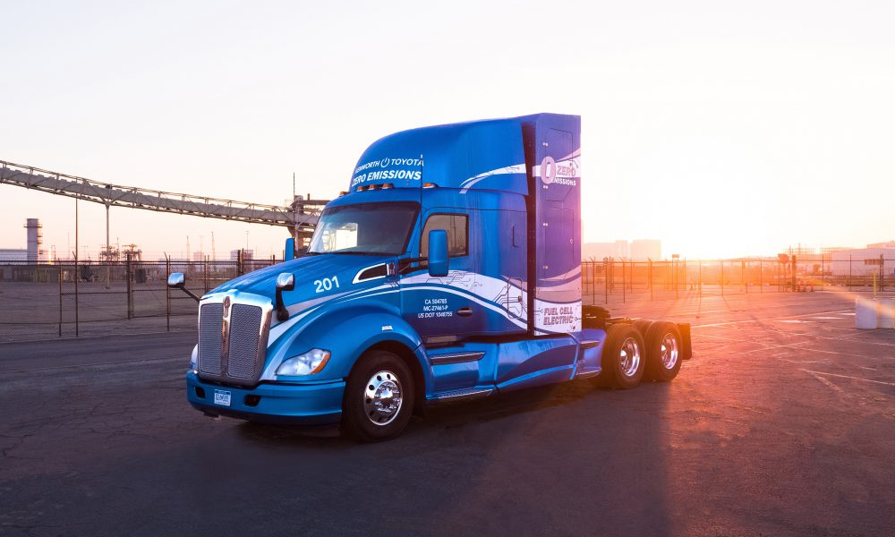 Toyota and Kenworth Collaborate To Develop Zero Emission Trucks