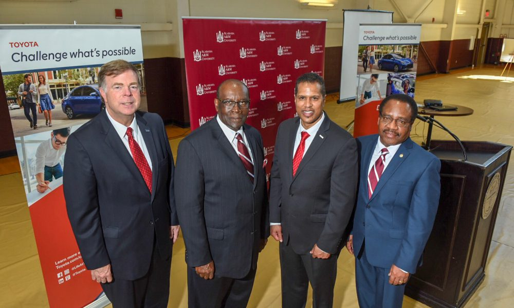 Alabama A&M University and Toyota Collaborate on Mobility Initiative