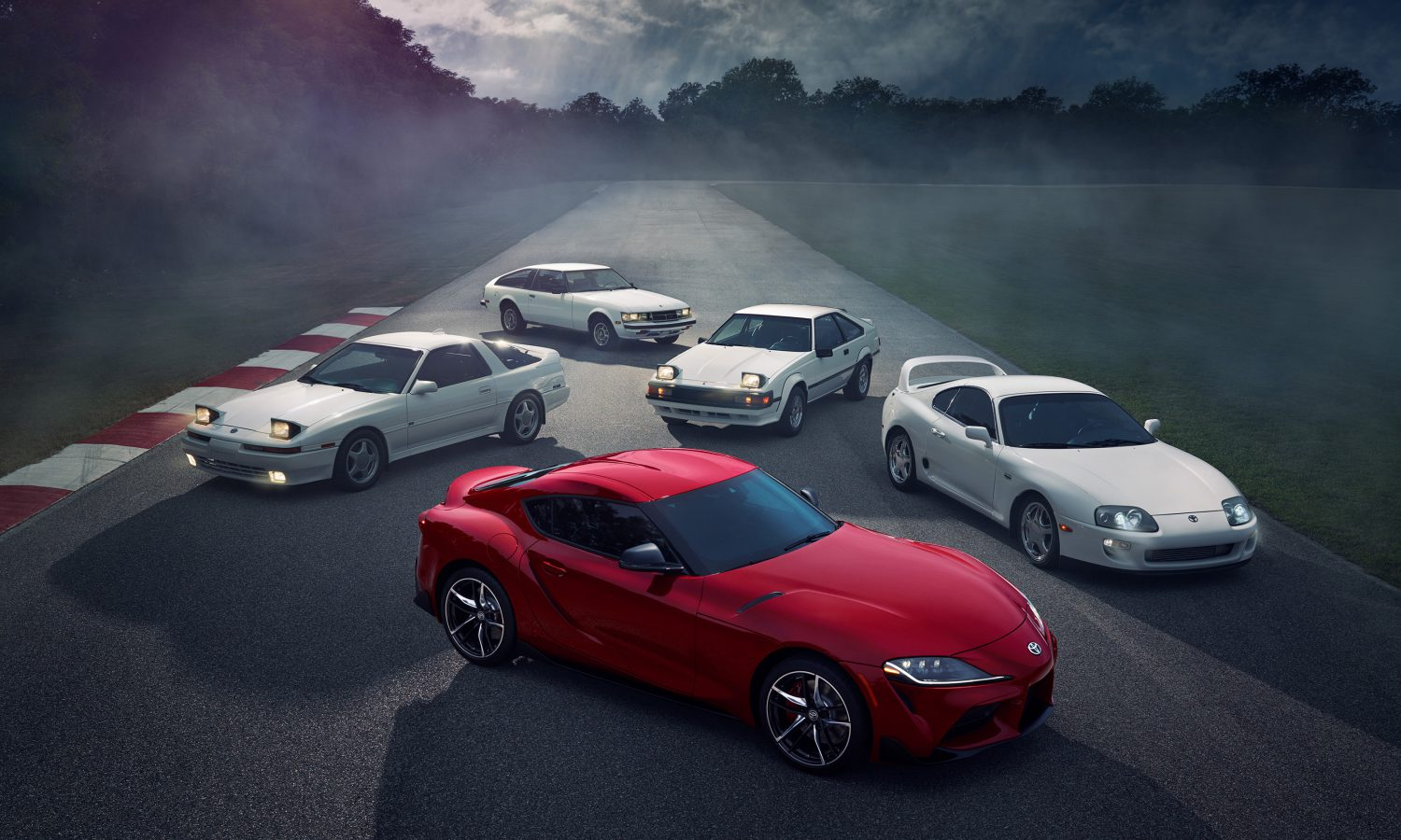 The Toyota Supra Lineage