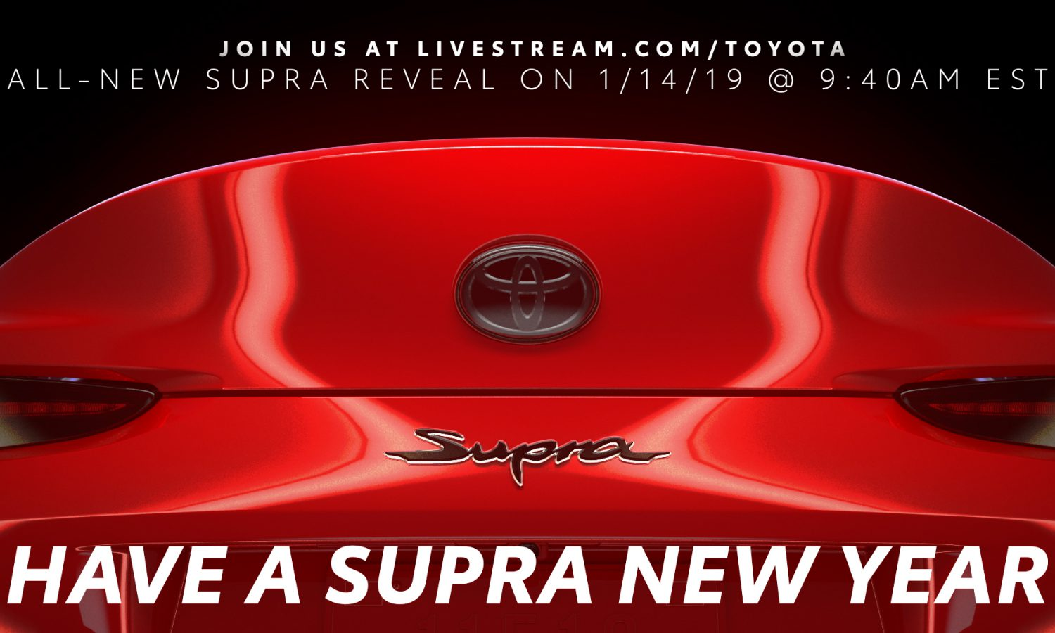 Have a Supra New Year!