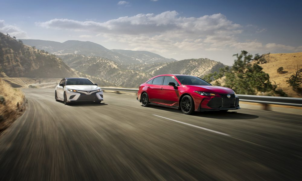 Toyota Racing Development Turns Up Heat for Camry and Avalon