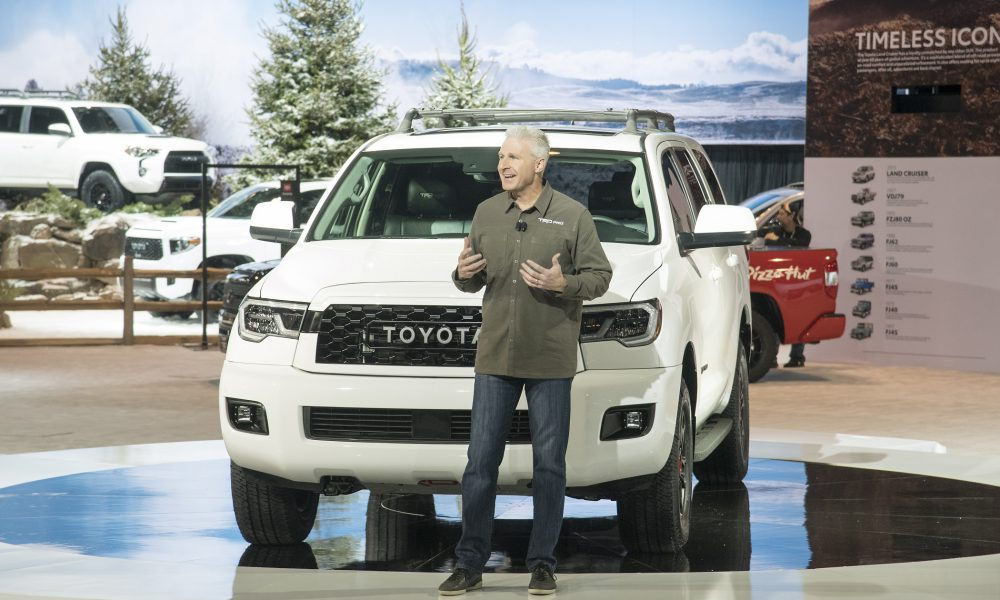 2019 Chicago Auto Show: Toyota Press Conference, Jack Hollis Remarks